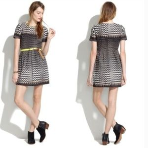 Madewell chevron tribal dress with pockets
